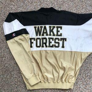 Vintage team issued Wake Forest jacket size 38 M/L